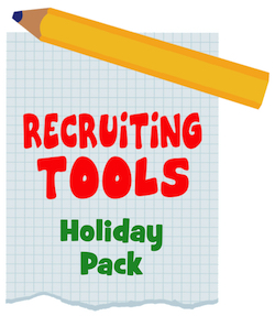 Recruiting Tools for the Holidays (5-Pack)