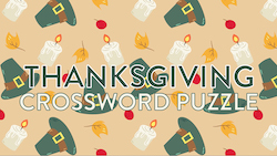 HM Media: Thanksgiving Crossword Puzzle