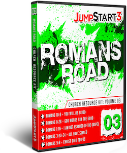 JumpStart3 Church Resource Kit - Volume 3: Romans Road - Download