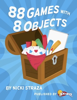 88 Games with 8 Objects Book