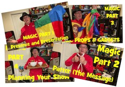 Karl's Magic Training Video Series