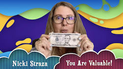 Object Lessons with Nicki Straza: Video #01 - You Are Valuable!