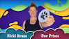 Object Lessons with Nicki Straza: Video #10 - Paw Prints