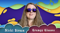 Object Lessons with Nicki Straza: Video #03 - Grumpy Glasses!