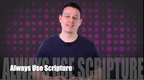 60 Second Teacher Tips with Philip Hahn: Video #01 - Always Use Scripture