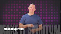 60 Second Teacher Tips with Philip Hahn: Video #10: Make It Spiritual