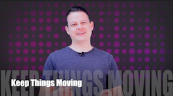 60 Second Teacher Tips with Philip Hahn: Video #03 - Keep Things Moving