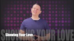 60 Second Teacher Tips with Philip Hahn: Video #05 - Showing Your Love