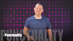 60 Second Teacher Tips with Philip Hahn: Video #07 - Punctuality