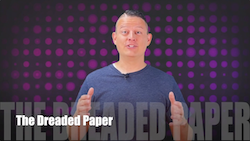 60 Second Teacher Tips with Philip Hahn: Video #09 - The Dreaded Paper