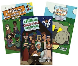 A FUNtastic Activity Book 3 Pack