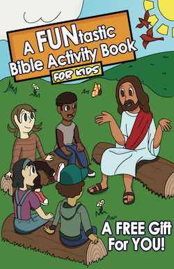 A FUNtastic Bible Activity Book - An Outreach Tool Template