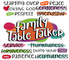 Family Table Talkers Series 1 - #1-12