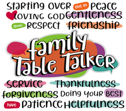Family Table Talkers #1-12