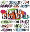 Family Table Talkers #13-24