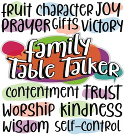 Family Table Talkers Series 2 - #13-24