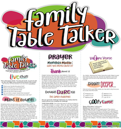 Family Table Talker #13 - Prayer