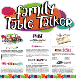 Family Table Talker #16 - Trust