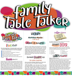 Family Table Talker #18 - Victory