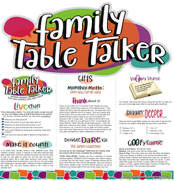 Family Table Talker #19 - Gifts