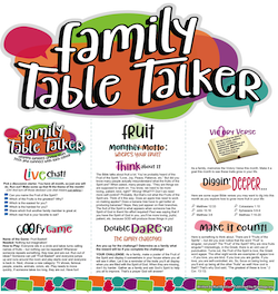 Family Table Talker #20 - Fruit