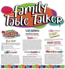 Family Table Talker #21 - Self-Control