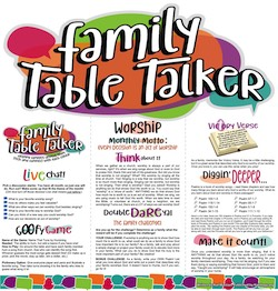 Family Table Talker #22 - Worship