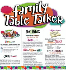 Family Table Talker #25 - The Bible