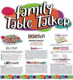 Family Table Talker #26 - Devotion