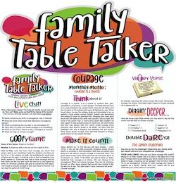Family Table Talker #30 - Courage