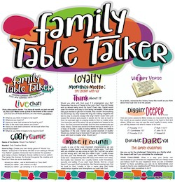 Family Table Talker #31 - Loyalty