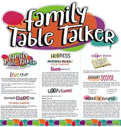 Family Table Talker #33 - Holiness
