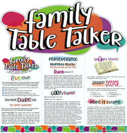 Family Table Talker #35 - Perseverance