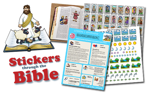 Stickers Through The Bible