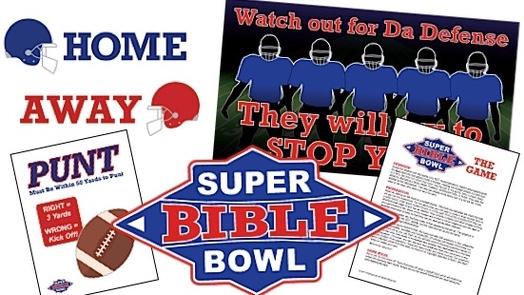 It's Super Bible Bowl!