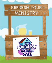 Refresh with the Kidology Garage Sale