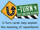 U-Turn Cards Gospel Presentation