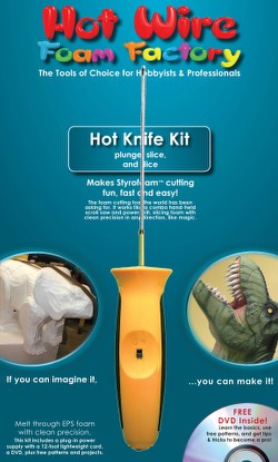 Hot Wire Foam Factory Crafters Hot Knife Kit