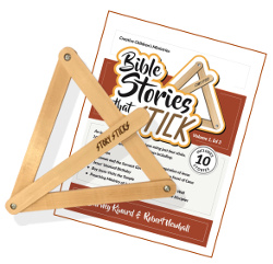 StorySticks with 10 Bible Stories + 3 Bonus Stories