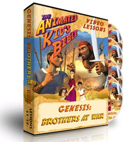Animated Kids Bible Genesis: Brothers at War Interactive Lessons 13-15