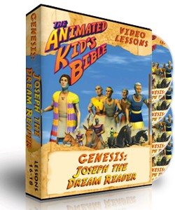 Animated Kids Bible Genesis: Joseph the Dream Reader Interactive Bible Lessons 16-18