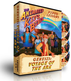 Animated Kids Bible Genesis: Voyage of the Ark Interactive Lessons 4-6
