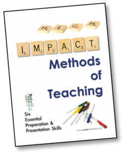 Cadre Ministries High Impact Methods of Teaching Training Book