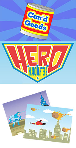 Can'd Goods: <i> Hero Headquarters Theme Pack</i> Download