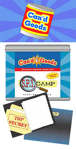 Can'd Goods: Spy Camp Theme Pack Download