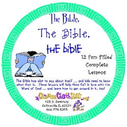 Childrens Church Stuff The Bible, The Bible, The Bible Kids Church Curriculum - Elementary (Download)