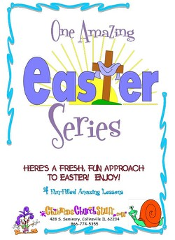 Childrens Church Stuff One Amazing Easter Series Kids Church Curriculum - Elementary (Download)