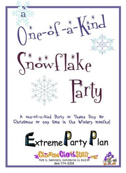 Childrens Church Stuff One of a Kind Snowflake Day Extreme Party Plan (Download)