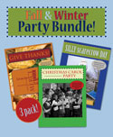 Childrens Church Stuff <i>Fall Winter Special 3-Pack</i> Extreme Party Plans (Download)