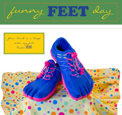 Childrens Church Stuff Funny Feet Day Extreme Party Plan (Download)